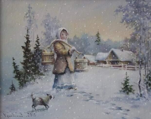 художник Владимир Краевский картины – 50