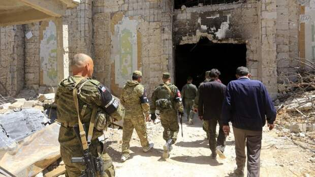 Оппозиционеры вступили впереговоры сроссийскими военными наюге Сирии