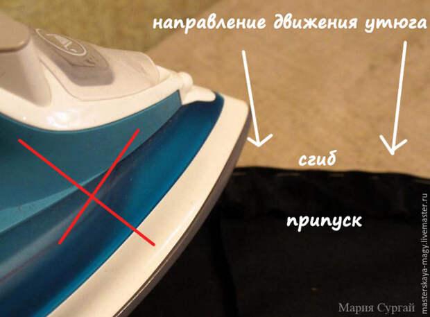 Обработка подола юбки