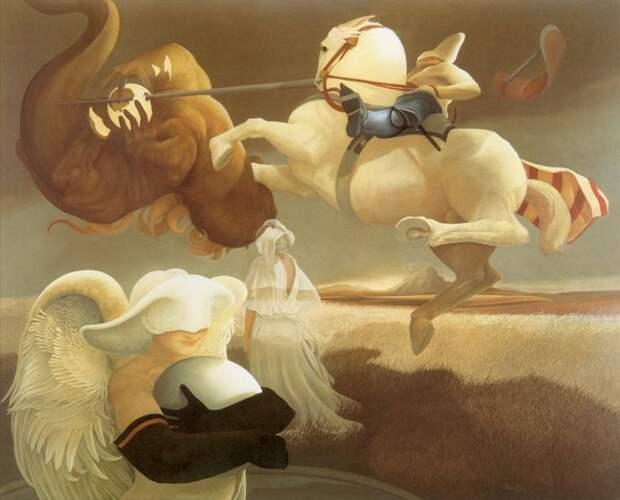 Магические картины Michael Parkes