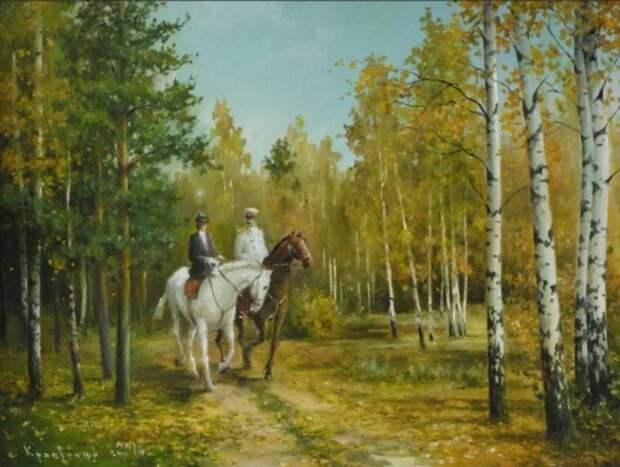 художник Владимир Краевский картины – 62