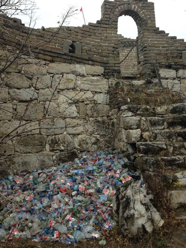 18. Великая Китайская стена с не такими уж и великими маленькими секретами загрязнение, китай, экология