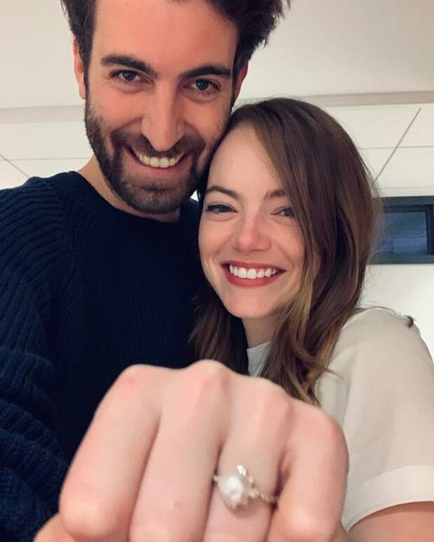 Эмма Стоун выходит замуж