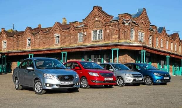 Битвы «близнецов»: как Lada Granta и Datsun on-DO делят российский рынок