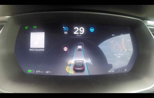 Tesla Motors представила систему автопилота для автомобилей