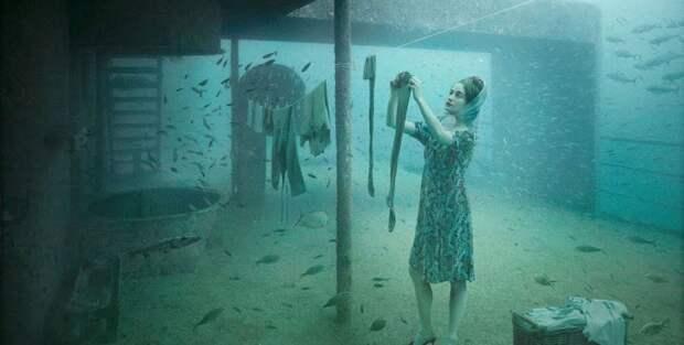 Подводный мир и фотоманипуляции Андреаса Франке
