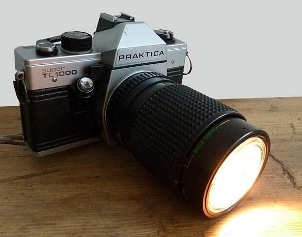 Лампы из фотокамер (подборка)