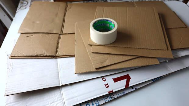 Как я организовала свои шкафы при помощи картона. Теперь я точно знаю, где что лежит