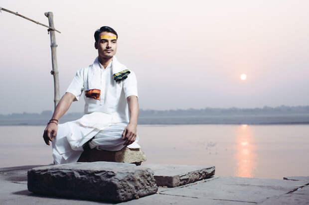 Фотографии самых почитаемых людей Индии