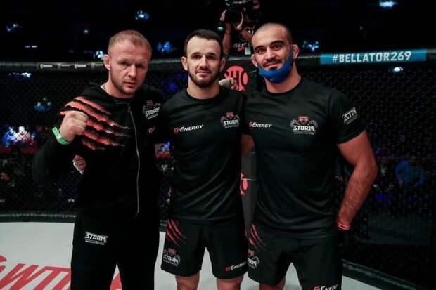 Омский боец победил нокаутом соперника на турнире Bellator — посмотрите, как это было