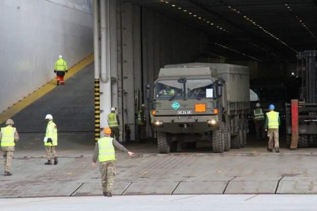 DELFI: В Литву прибыли многочисленные силы быстрого реагирования НАТО