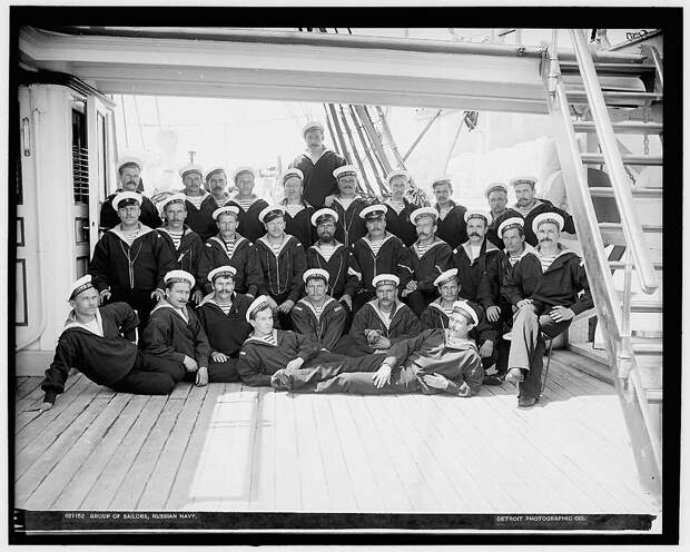 Корабли иофицеры ВМФ Российской империи 1893 года