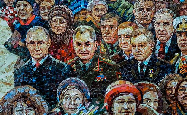В РПЦ объяснили ситуацию с мозаикой с Путиным в храме Вооруженных сил