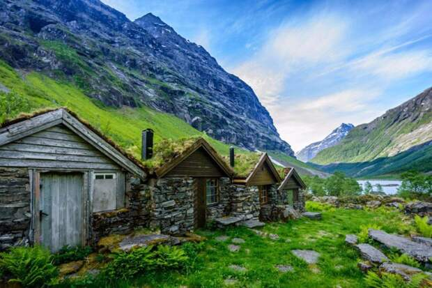 Архитектурные сказки Норвегии