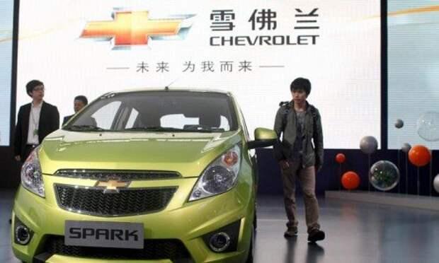 Премьера Chevrolet Spark в Китае