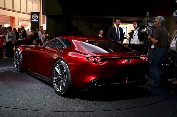 Mazda вновь делает ставку на роторные технологии (ВИДЕО)