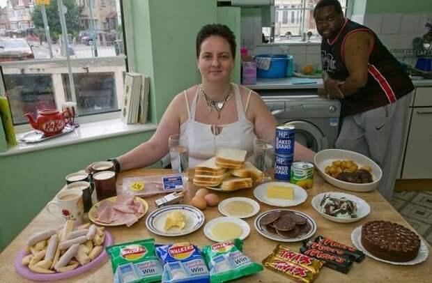 Что обычно едят люди в разных уголках земли