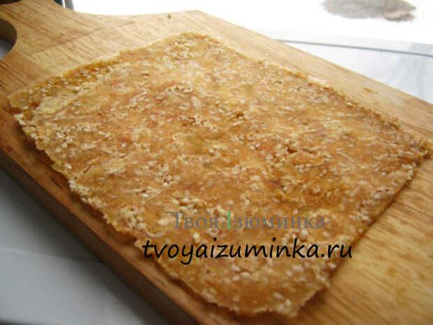 Рецепт приготовления тклапи — сухофруктов из яблок