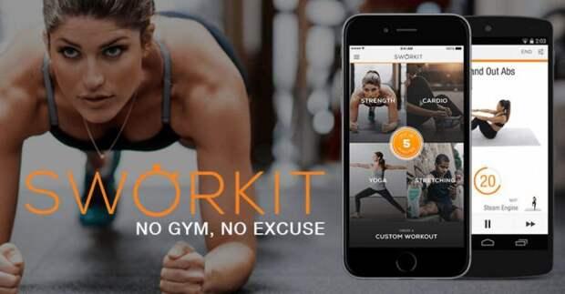 6 приложений для фитнеса и тренировок