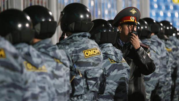 ОМОН охраняет все керченские учебные заведения