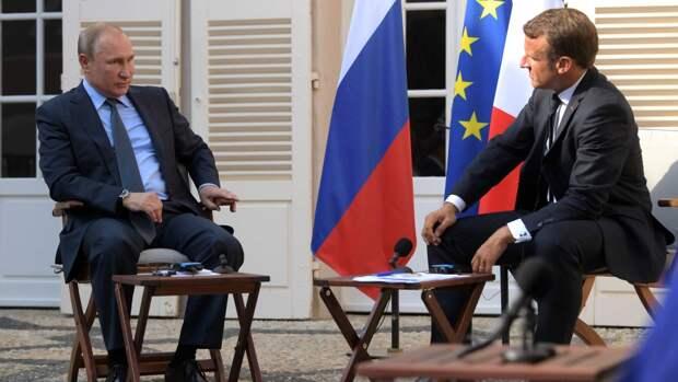 Президент Франции намерен провести переговоры с Путиным