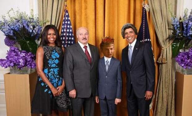 В соцсетях высмеяли визит Лукашенко к Обаме