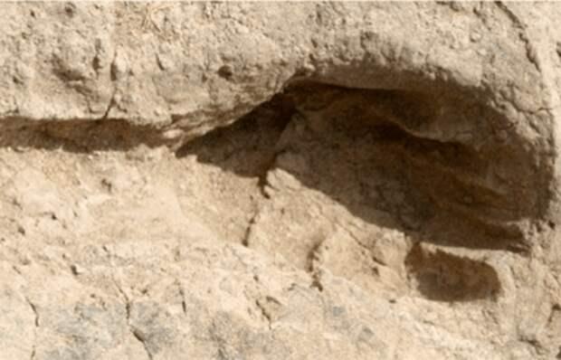 Загадочные следы стоп: отпечатки близ кенийского озера Туркана.