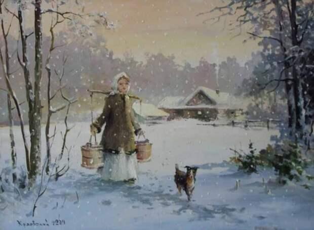 художник Владимир Краевский картины – 61