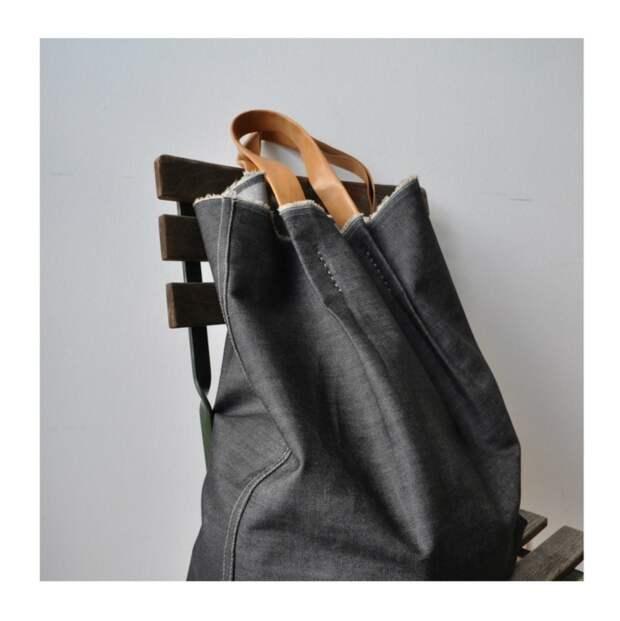 Летняя сумка в стиле нормкорм (diy)