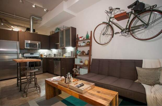 Где парковать велосипед в маленькой квартире своими руками, сделай сам