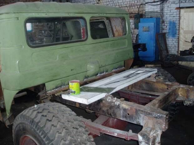 Самодельный Hummer H1 на базе ГАЗ-66 авто, своими руками, хаммер