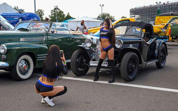 Крупнейший фестиваль раритетов на автодроме Moscow Raceway