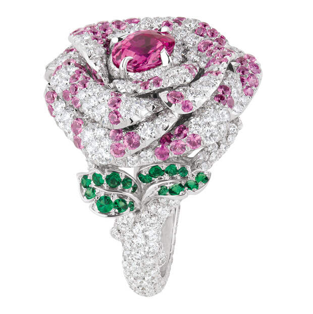 Dior Precieuses Rose ring by Victoire de Castell