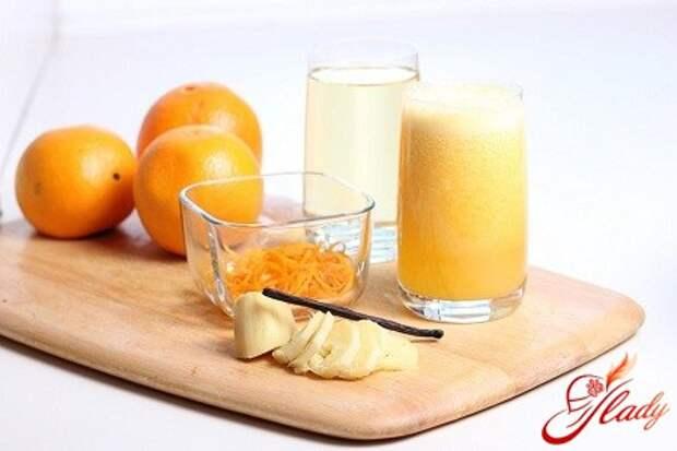 Апельсиновый напиток в домашних условиях