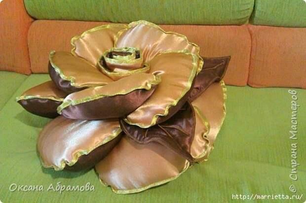 Самая красивая подушка РОЗА. Мастер-класс (25) (520x346, 116Kb)