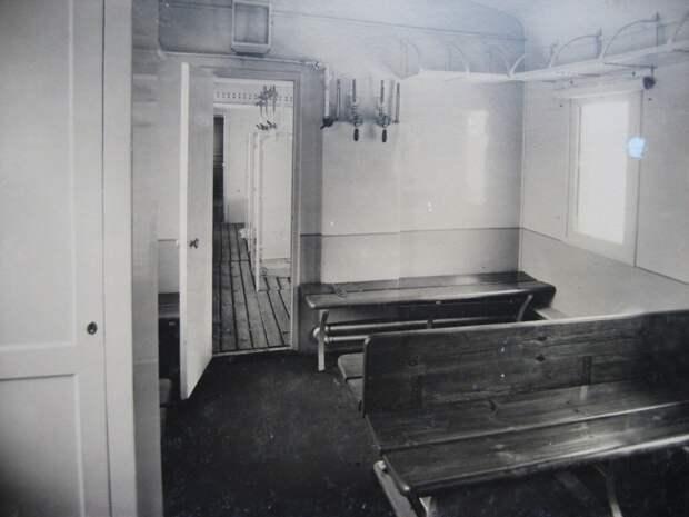 9. Вагон-баня.