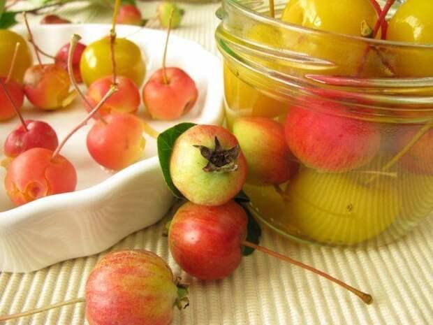 Варенье из декоративных яблок