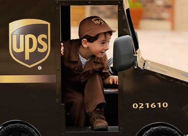 Самый юный в мире почтальон