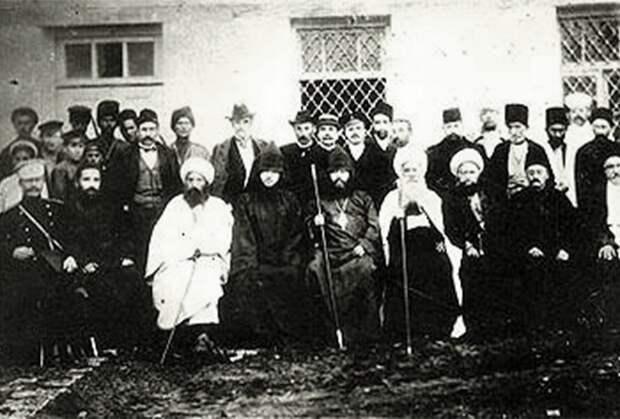 Карабахская комиссия по перемирию, 1918 год