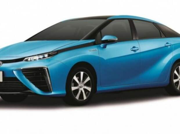 Водородный седан Toyota Mirai выходит в продажу 15 декабря