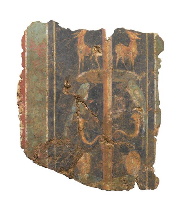 В Лондоне нашли одну из старейших фресок римской Британии