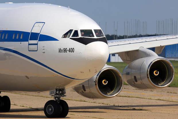 Создание первого опытного образца самолета Ил-96-400М обойдется в 10,1 млрд рублей