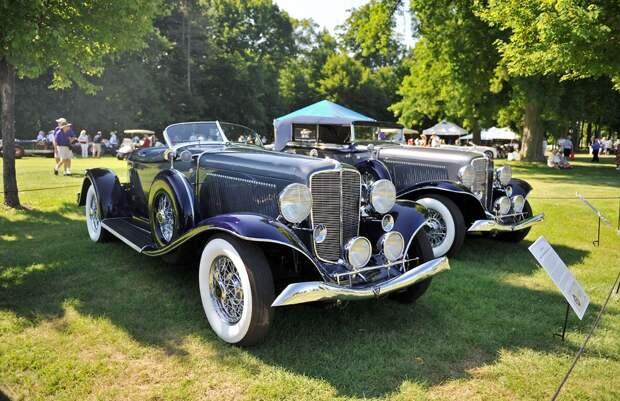 Самые красивые автомобили: Auburn