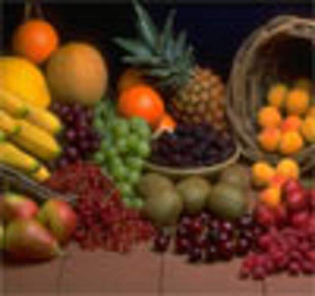 Эксклюзивные фрукты (развитие идеи фруктовых наклеек)