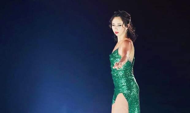 Туктамышева решила неснимать ссебя костюм вновом шоу-номере