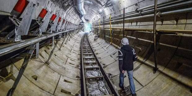 Собянин рассказал о строительстве северо-восточного участка БКЛ метро. Фото: mos.ru