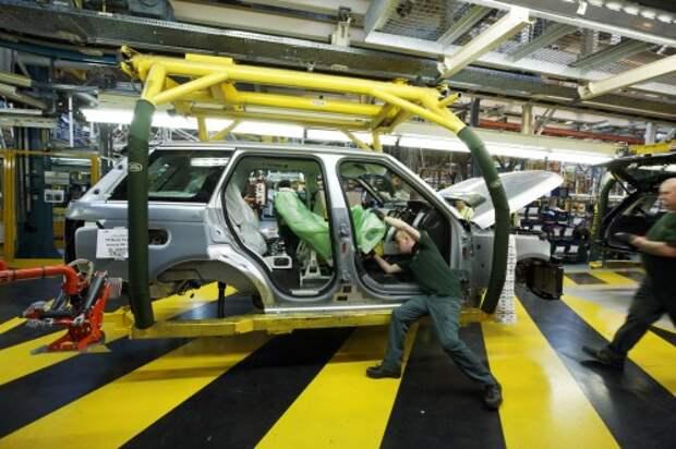 Завод Jaguar Land Rover