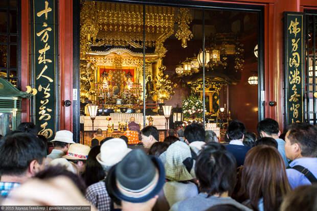 Японцы на самом масштабном фестивале Токио