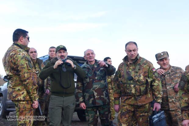 Арешев: чехарда в военном руководстве Армении привела к сдаче Арцаха