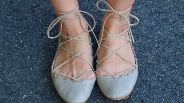 Переделка балеток (Diy)